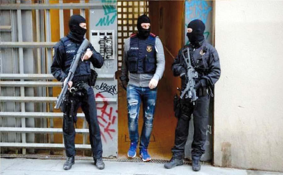 Terroristas en Barcelona