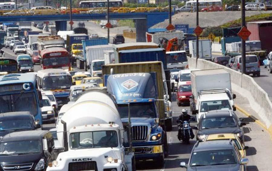 Transito camiones