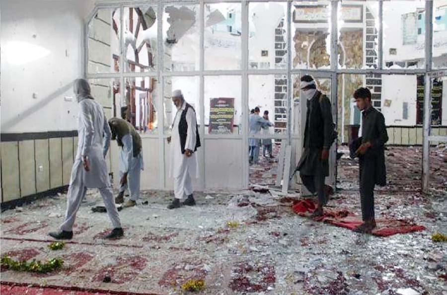 explosión de gas en Afganistán