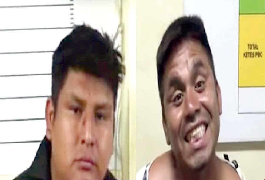 Delincuente se burla de policías