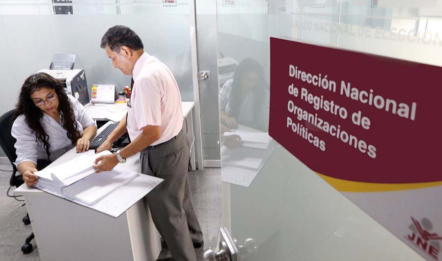 Dirección Nacional de Registro de Organizaciones Políticas
