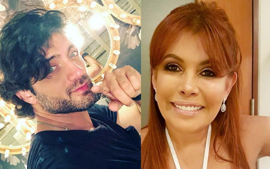 Pablo Heredia y Magaly Medina