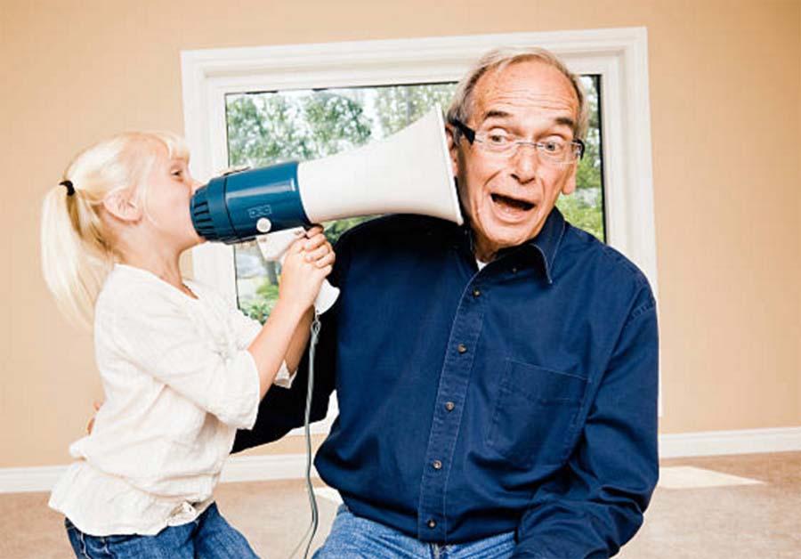 Problemas de oído en personas mayores