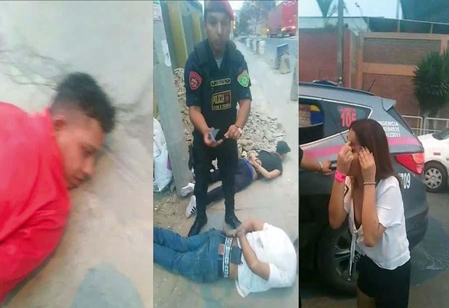 Venecos golpean a jovencita para robarle