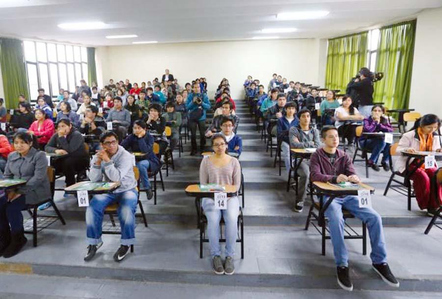 Examen Universitaria de la Universidad Nacional Mayor de San Marcos