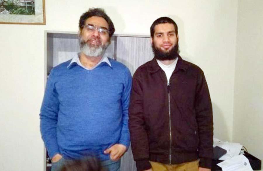 Khursheed Alam dijo que estaba orgulloso de que su hermano Naeem Rashid