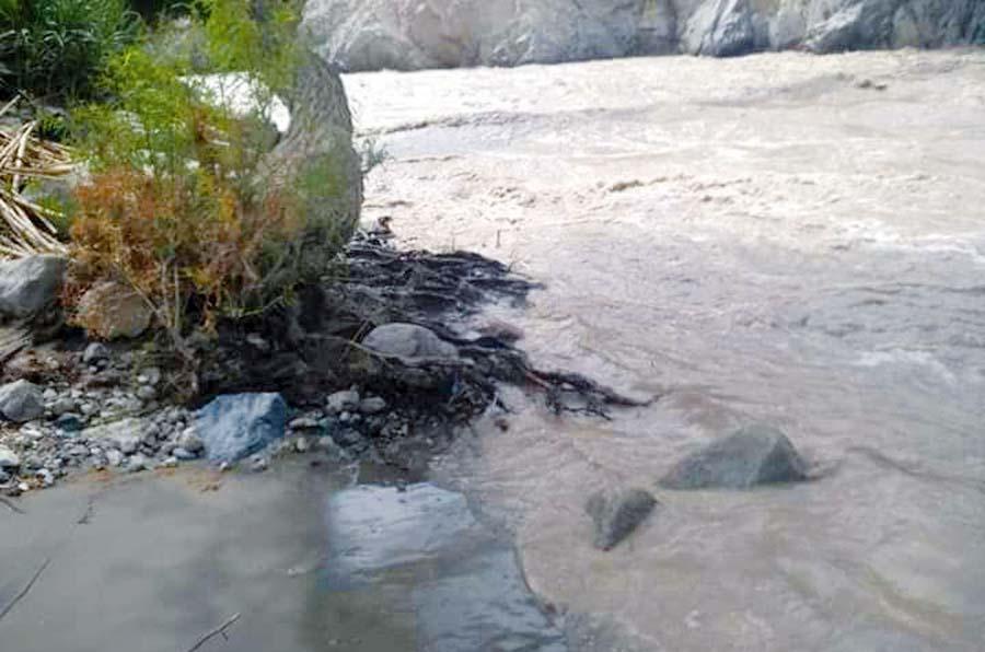 Ríos Ica y Pisco al tope por intensas lluvias