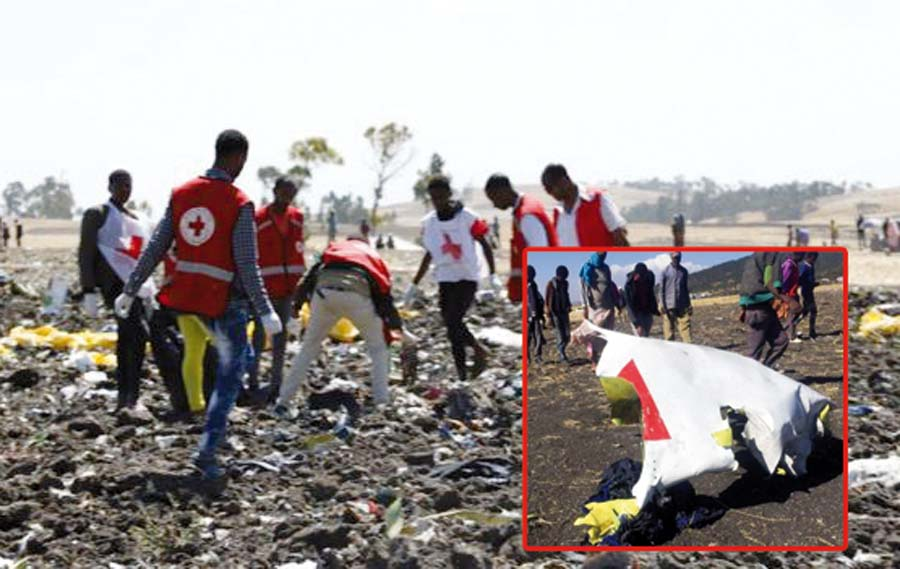 Se estrella avión en Africa con 157 a abordo