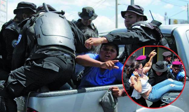 Violencia y represión en Nicaragua