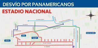 Juegos Panamericanos - desvios