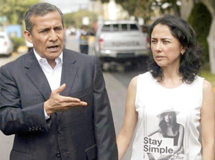 Ollanta Humala y Nadine Heredia Alarcón
