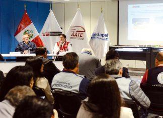 Sedapal y la Autoridad Autónoma del Sistema Eléctrico de Transporte Masivo de Lima y Callao