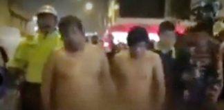 Vecinos atraparon a delincuentes en Los Olivos