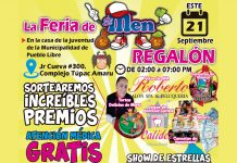 Feria de 'El Men Regalón'