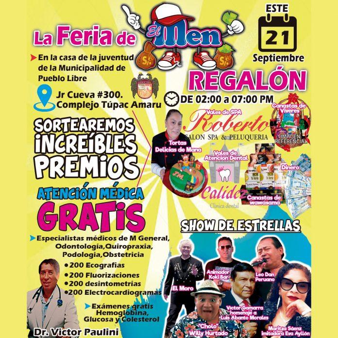 Feria de 'El Men Regalón'