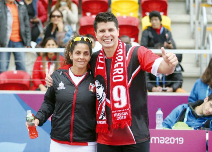 Kevin Martínez y Claudia Suárez