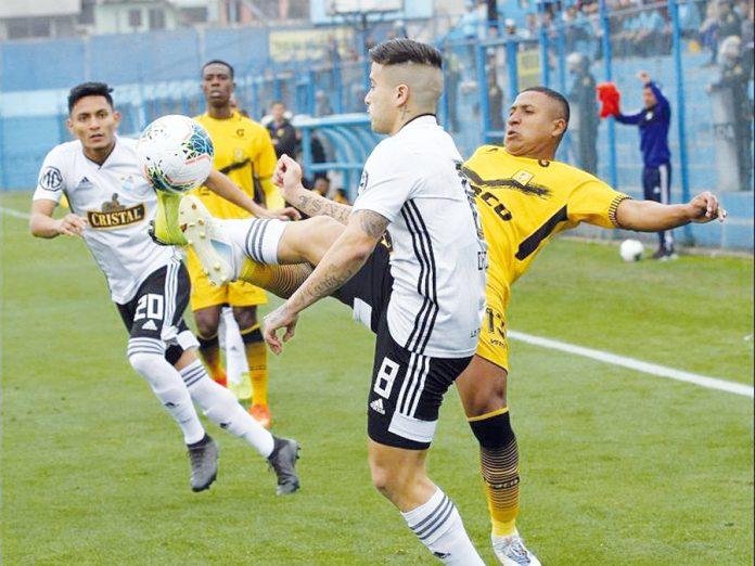 Cantolao empató 1-1 a Sporting Cristal