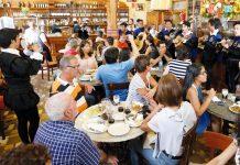 Consumo restaurantes