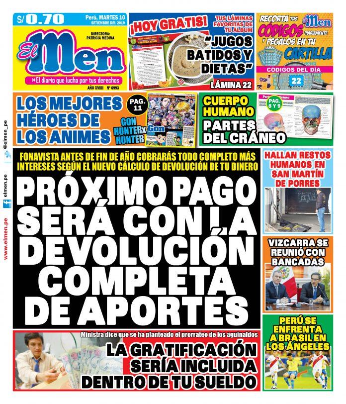 Portada (10/09/2019)