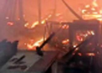 Incendio en Villa el Salvador