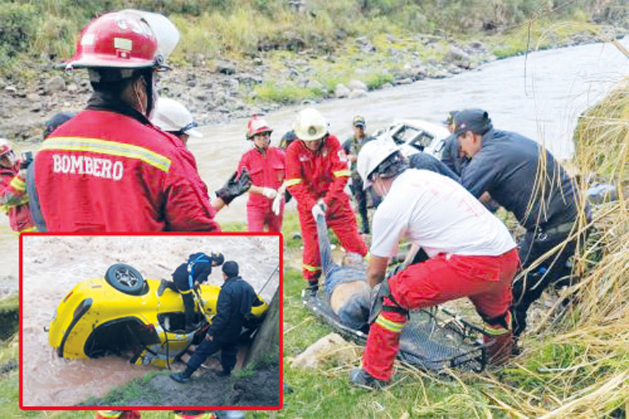Accidente río Blanca