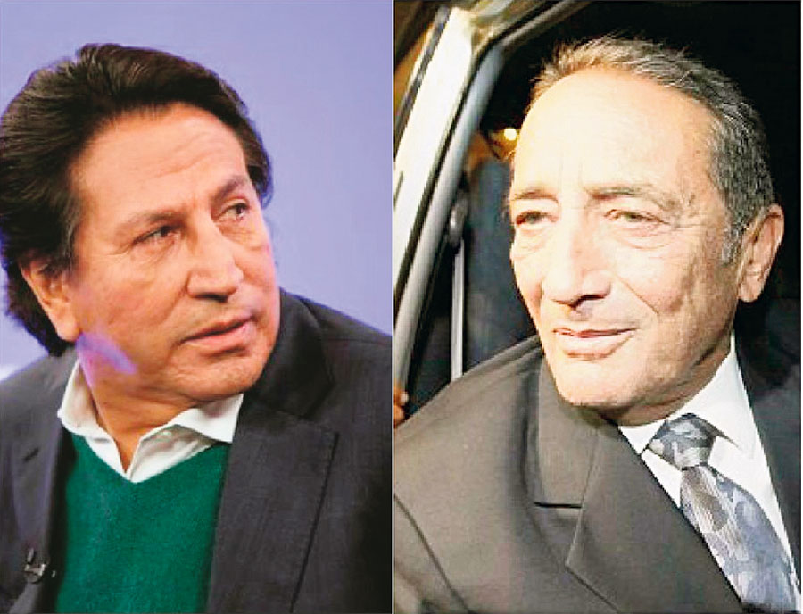 Alejandro Toledo, y Yosef Maiman
