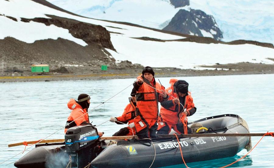 Estudios en la Antártida