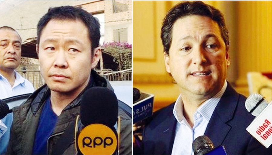 Kenji Fujimori y Daniel Salaverry