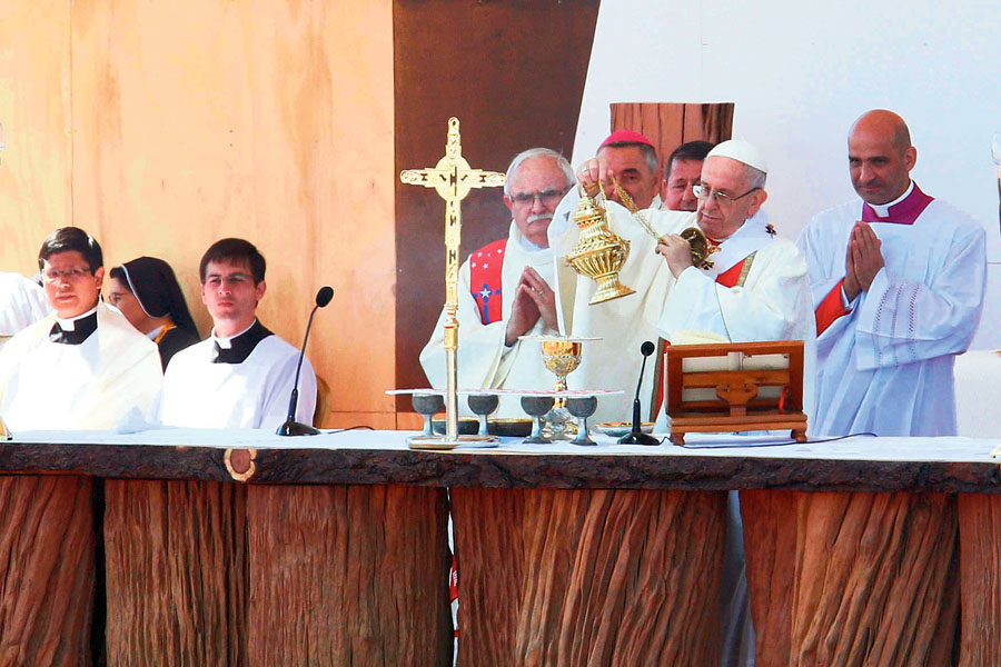 Misa en Chile Papa Francisco