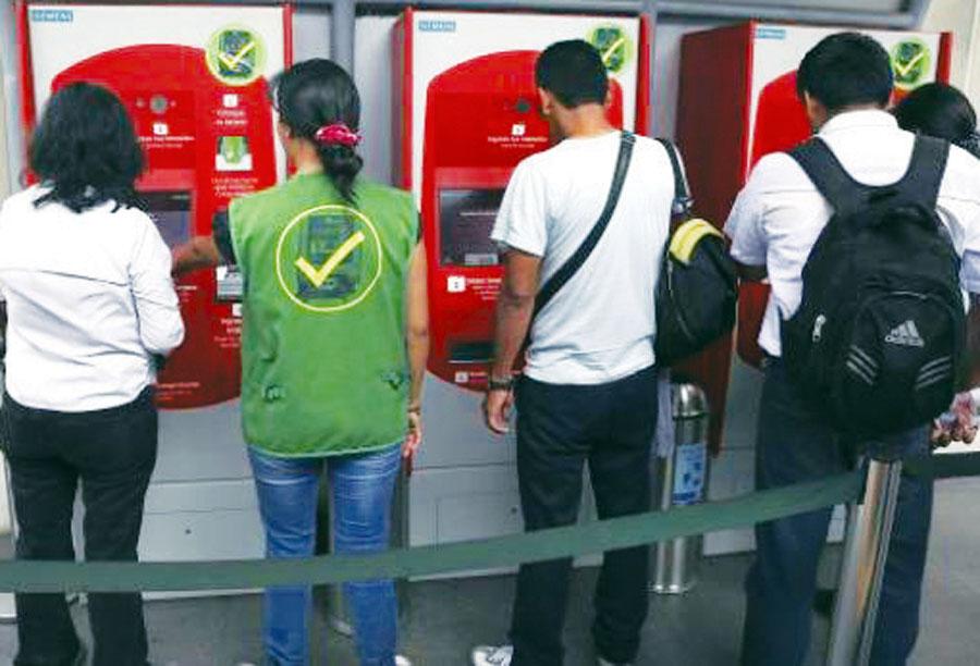 Recargas metro de Lima