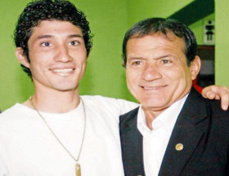Roberto Barraza Barreda, hijo del conocido cómico Miguel Barraza