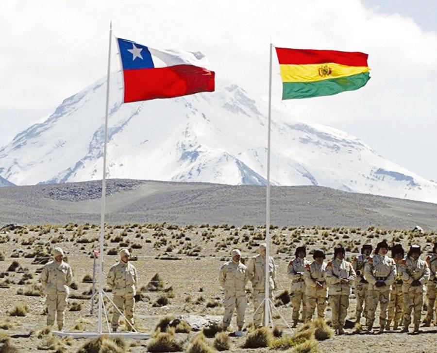 Vientos de guerra entre Chile y Bolivia