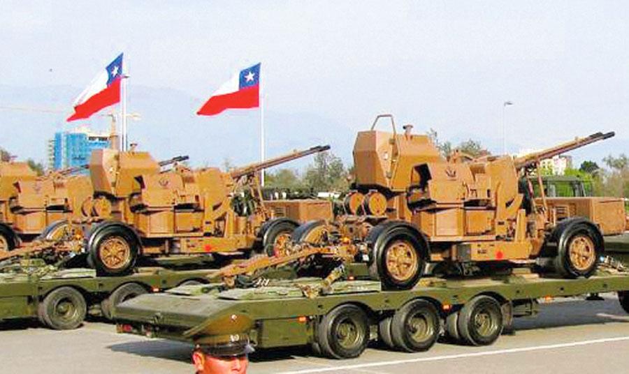 El ejército chileno está revisando sus antiguos planes de renovación de la flota de vehículos blindados sobre ruedas a partir de marzo del 2018.