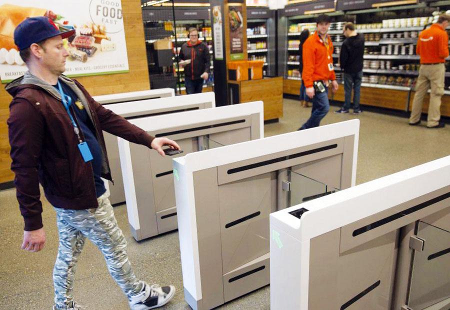 supermercado sin cajeros
