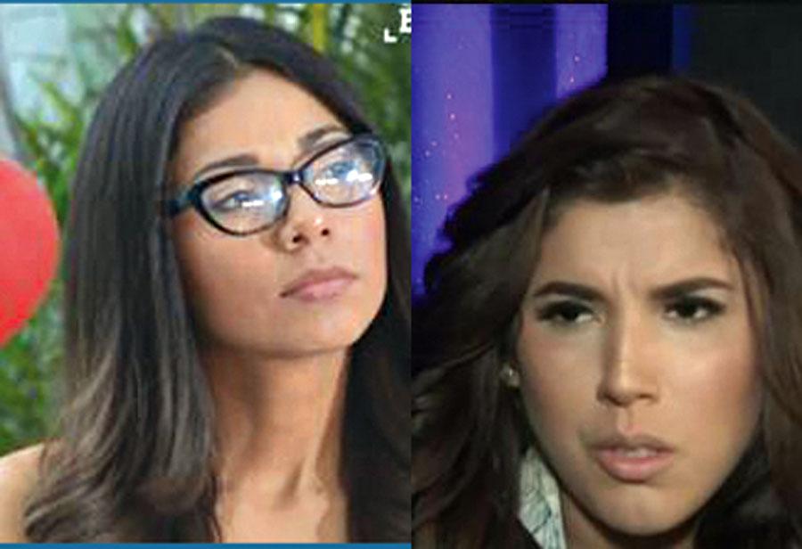 Olenka Mejía y Yahaira Plascencia