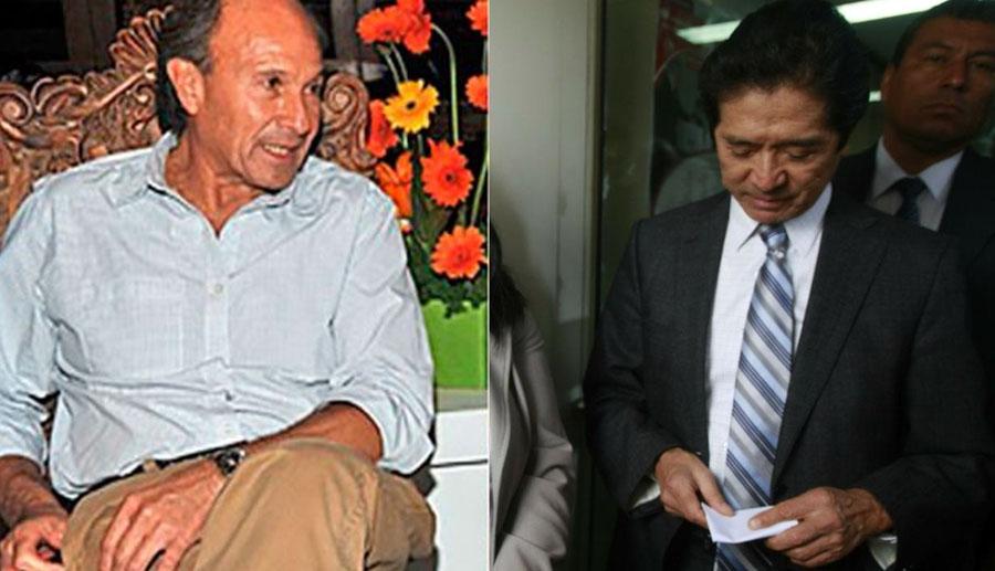 Augusto Bedoya y Jaime Yoshiyama