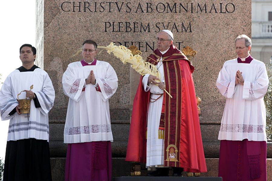 Papa Francisco, domingo de ramos