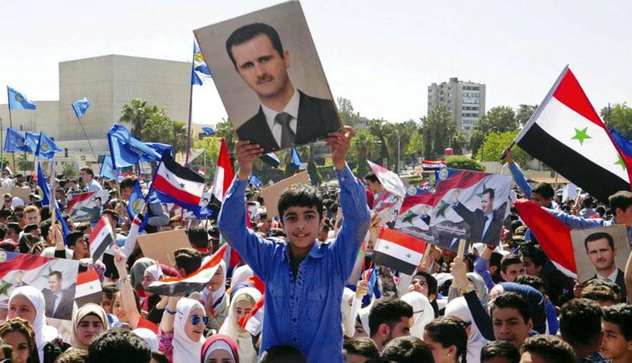 Sirios en contra de ataque