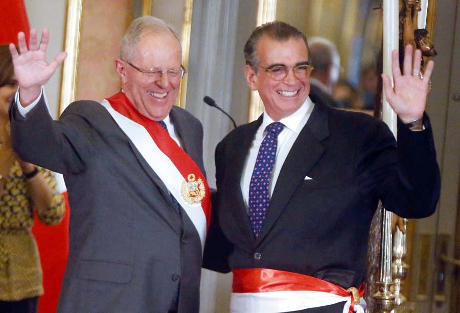 Pedro Pablo Kuczynski y Pedro Olaechea
