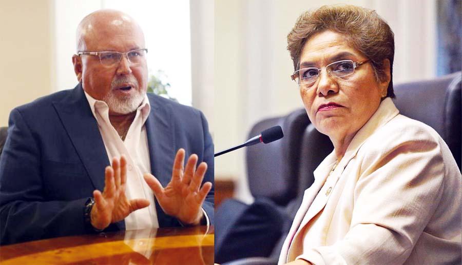 Carlos Bruce y Luz Salgado