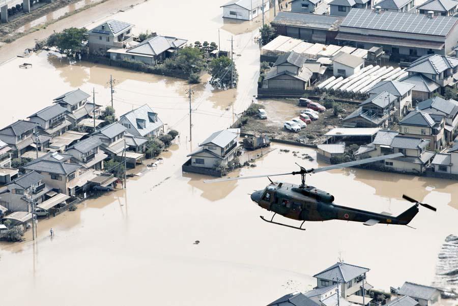 Japón, diluvio deja 126 muertos