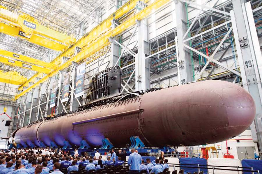 Programa de Desarrollo de Submarinos (Prosub) de la Marinha de Brasil