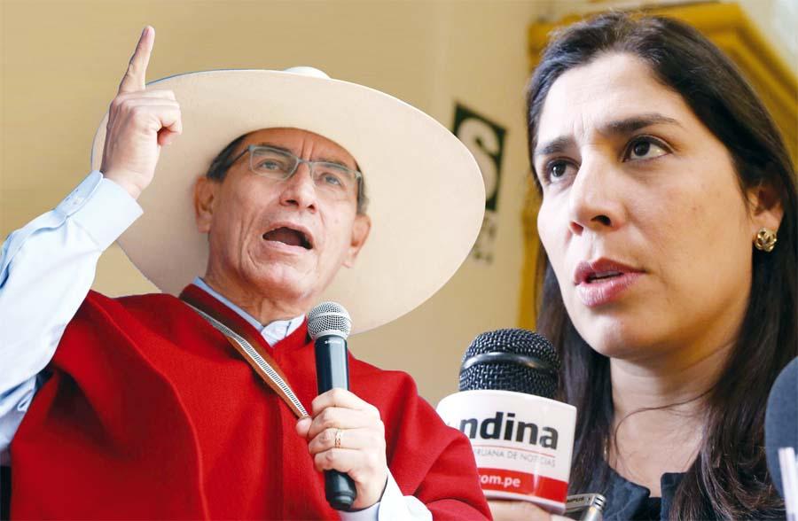 La congresista Úrsula Letona, vocera de Fuerza Popular, le respondió al presidente Martín Vizcarra