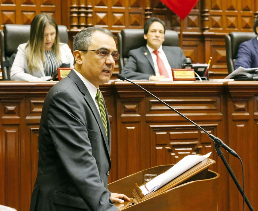 Premier y el de Economía sustentaron ayer el Proyecto de Ley del Presupuesto del Sector Público para el 2019 ante el Congreso