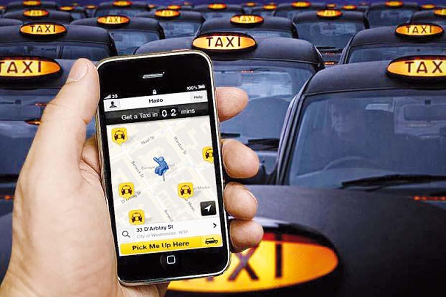 Taxis por aplicativos