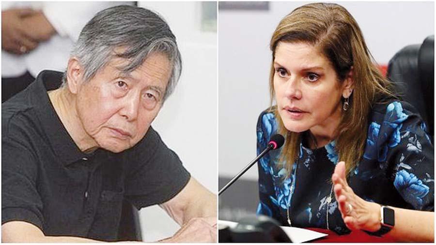 'Meche' quiere a Fujimori libre