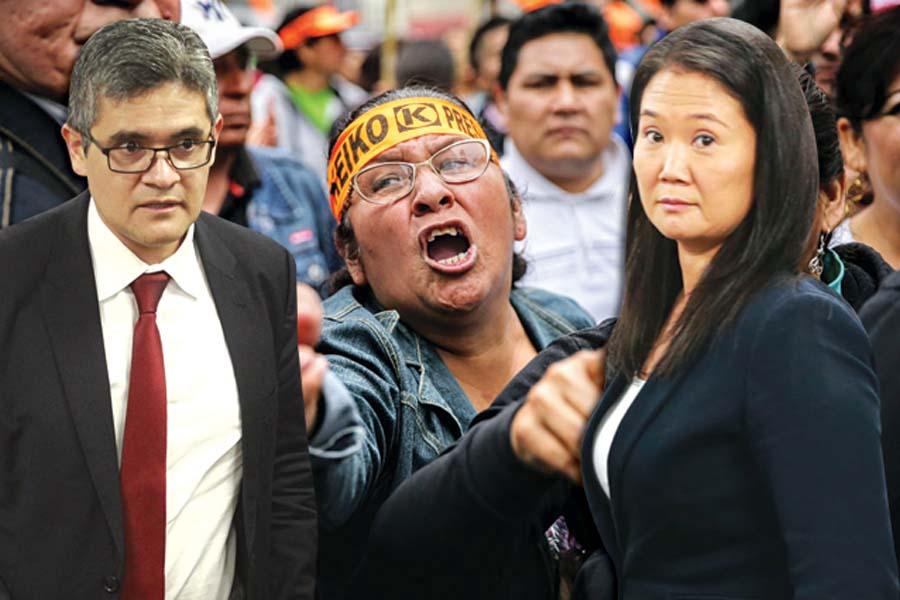 Fiscal José Domingo Pérez acorraló a Keiko Fujimori