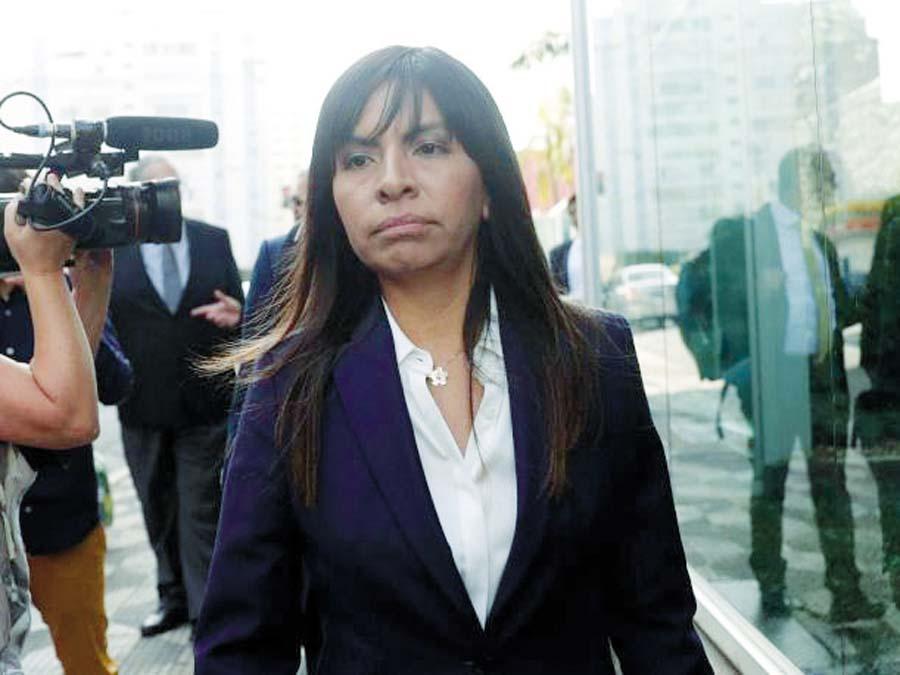 Giuliana Loza, abogada de Keiko Fujimori