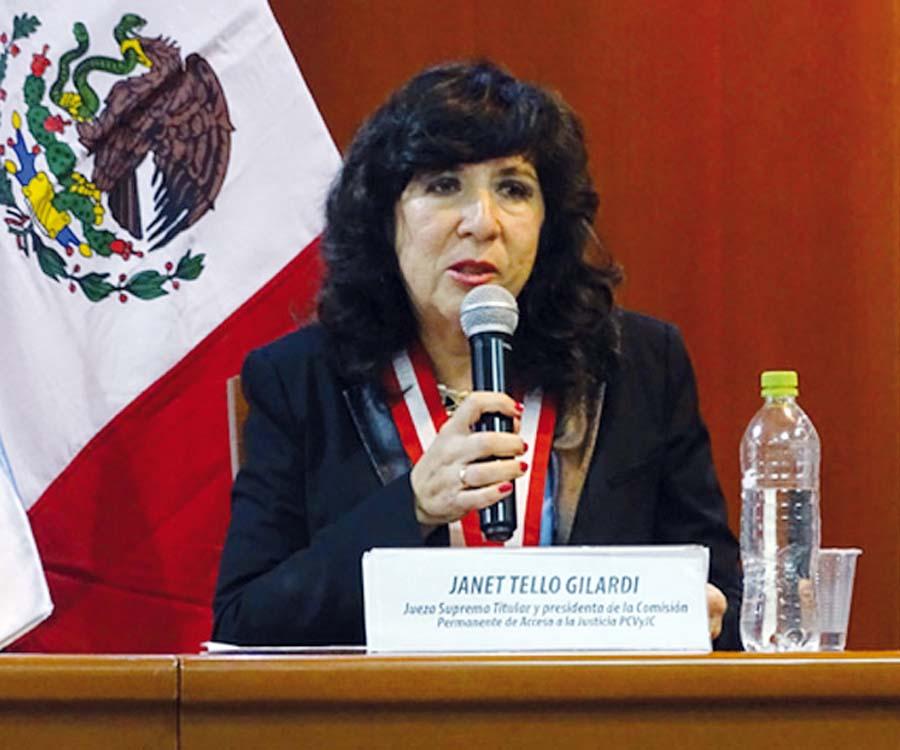 Jueza suprema Janet Tello Gilardi