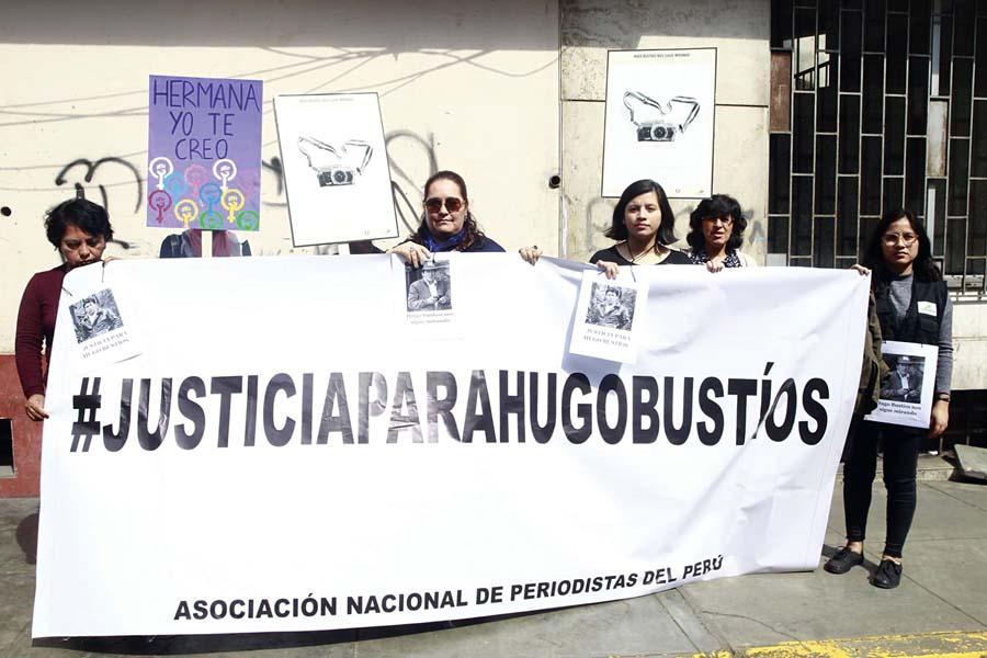 Justicia para Hugo Bustios